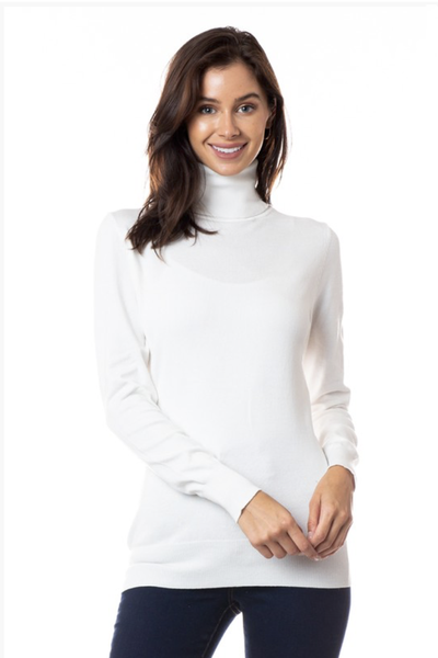 TURTLENECK SWEATER IVORY