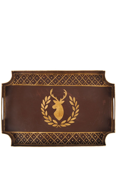DEER LAUREL JAYE TRAY BROWN