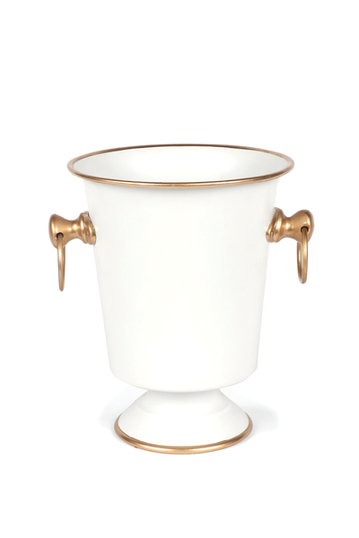 REGENCY COLLECTION ICE BUCKET WHITE