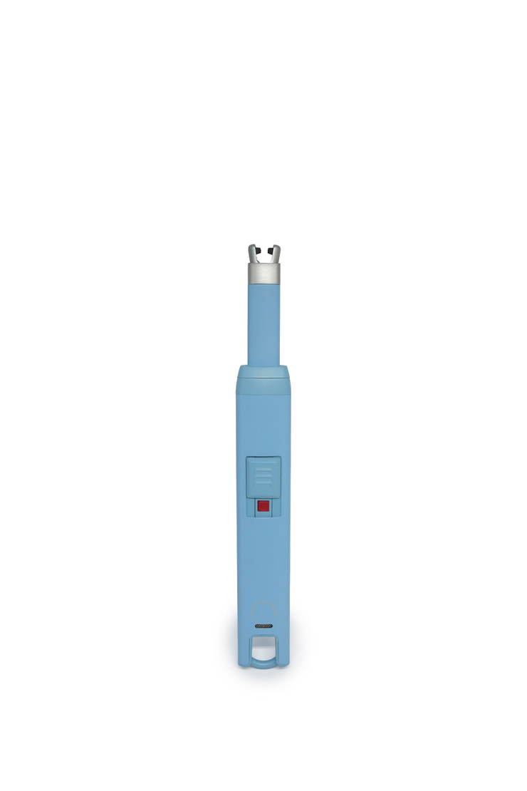 USB CANDLE LIGHTER LIGHT BLUE
