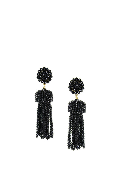 LISI LERCH TASSEL CZECH BLACK