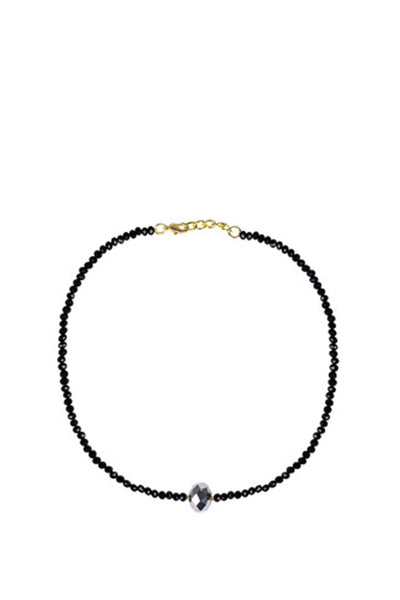LISI LERCH PAIGE CHOKER CZECH BLACK AND DISCO