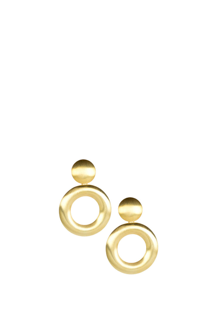 LISI LERCH GOGO BRUSHED GOLD SMALL