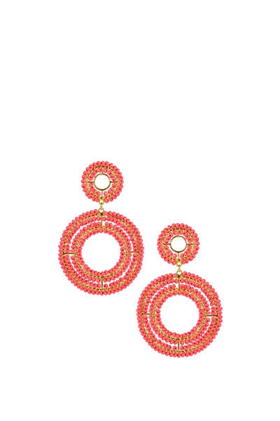 CHEYANNE EARRINGS MISS PINK
