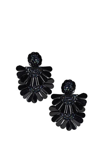 LISI LERCH NATALIE EARRING BLACK