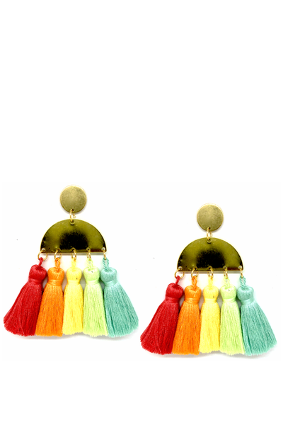 LUMEN TASSEL EARRINGS