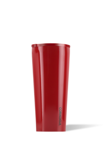 RED DIPPED TUMBLER 24 OZ.