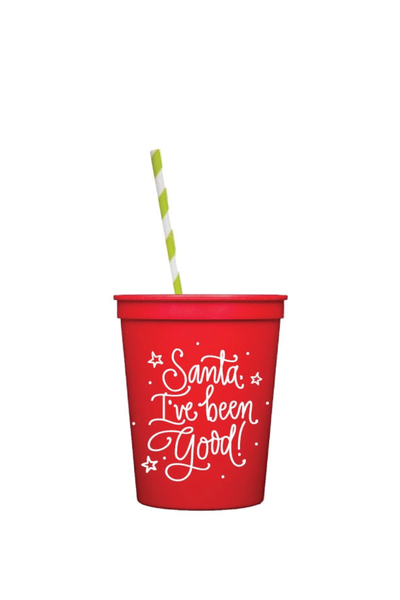 "'SANTA I'VE BEEN GOOD"" KIDS CUPS"