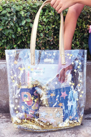 THE STARS CONFETTI BUCKET BAG