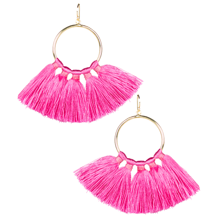 Izzy Earring - Miss Pink