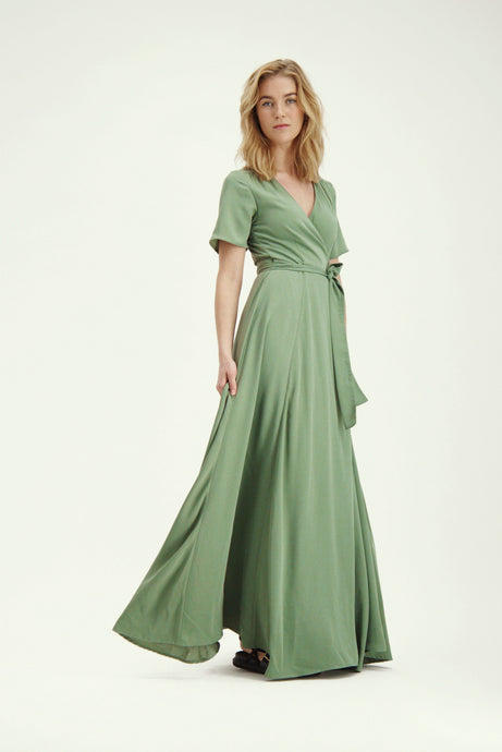 Love Dress - Washed Army