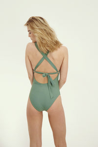 Joy Swimsuit - Washed Army