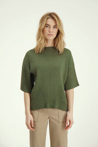 May Knit - Washed Army