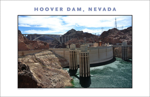 Hoover Dam Photo Prints as Wall Art