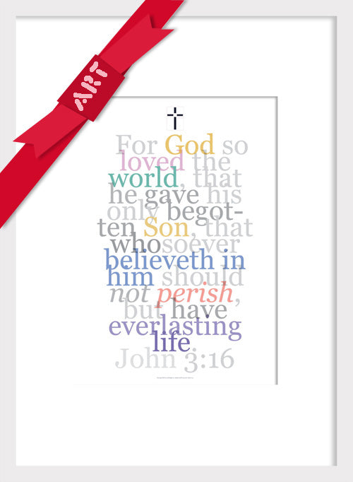 Bible Art Christmas gift