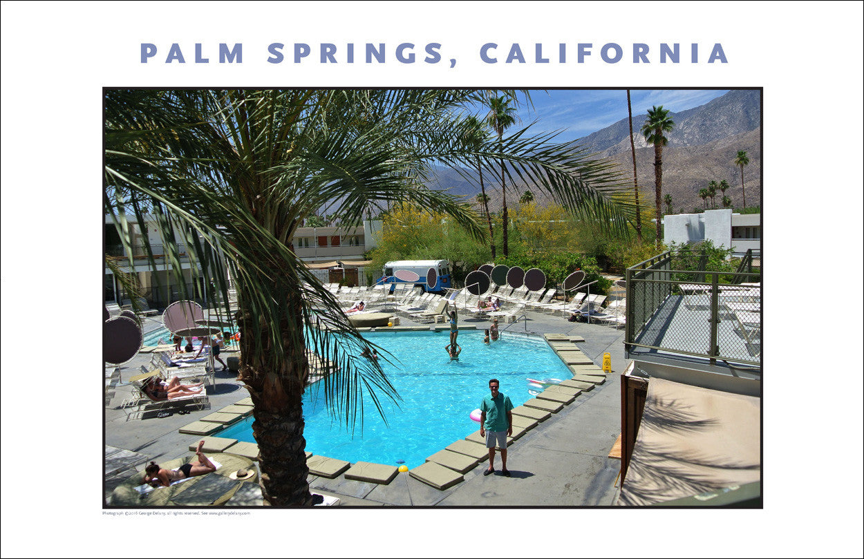 Palm Springs, CA Photo Wall Art #1008