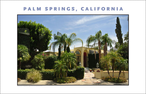 Palm Springs, CA Photo Wall Art #1009
