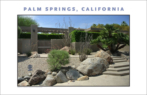 Contemporary Homes, Palm Springs, CA Photo Wall Art #1012