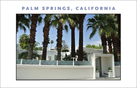 Swanky, Handsome... House Tour of Palm Springs, CA Photo Wall Art #1018