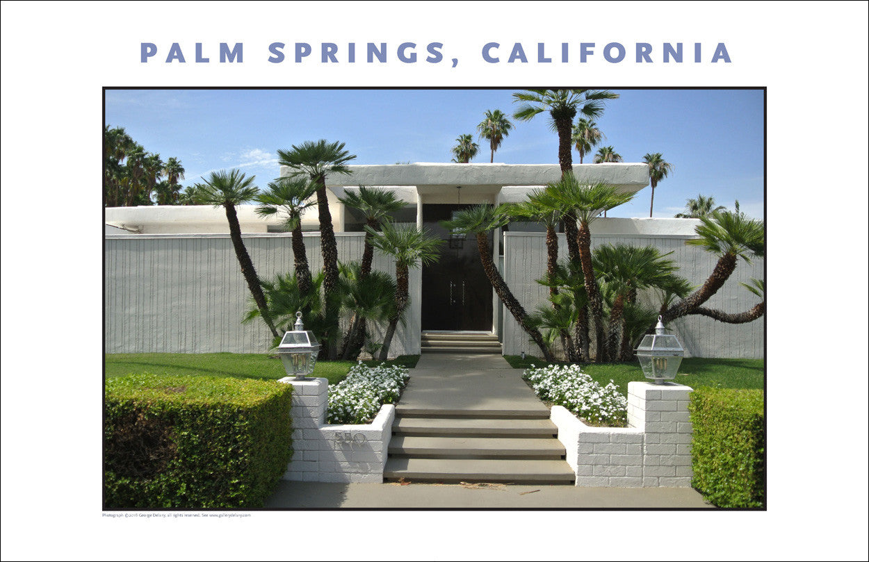 Not Bad! House Tour of Palm Springs, CA Photo Wall Art #1019