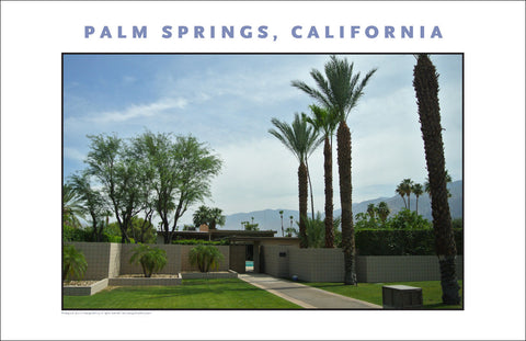OK, Second Tease...Sinatra on House Tour In Palm Springs...CA Photo Art #1027