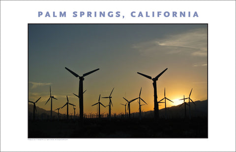 More Alt Energy, Wind In Palm Springs...CA Photo Art #1031