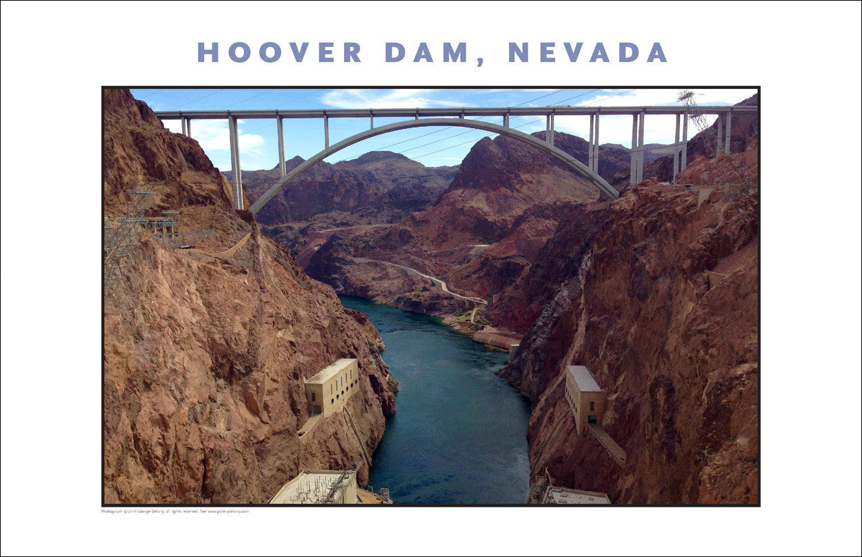 New...Hoover Dam Photo Wall Art # 1038
