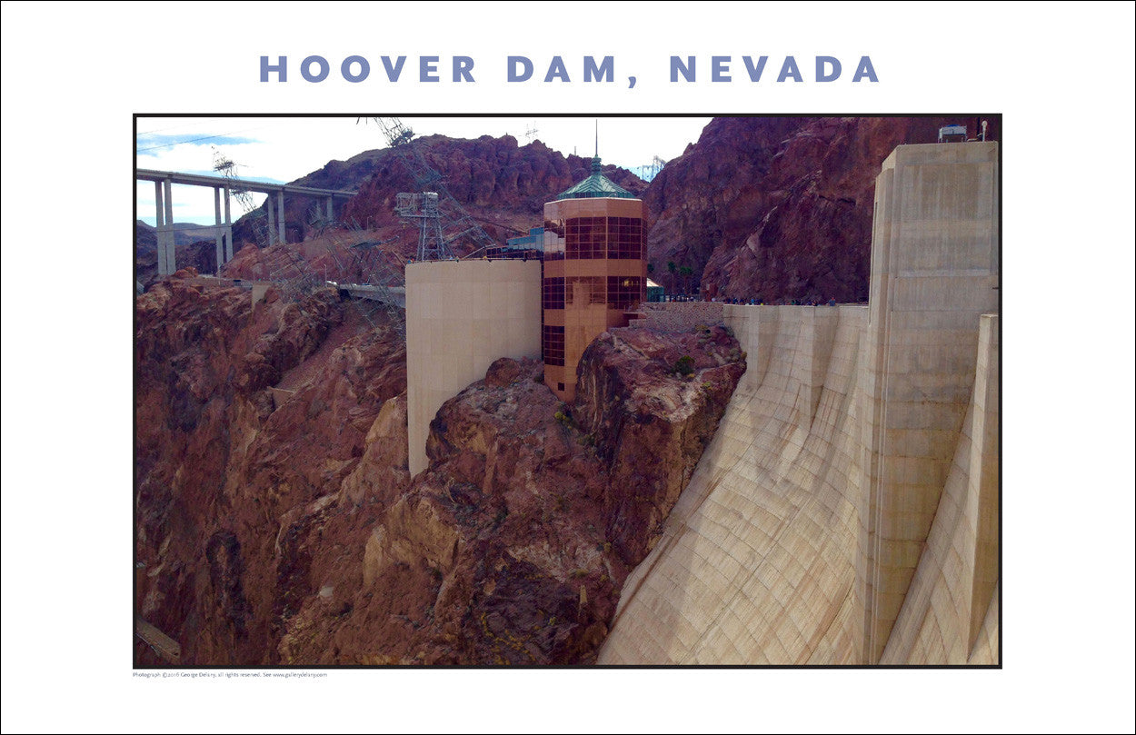 New...Hoover Dam Photo Wall Art # 1040