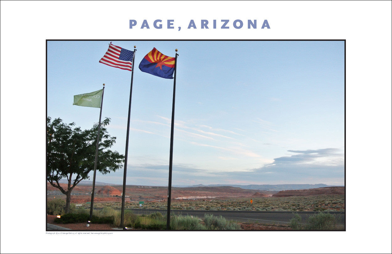 New...Page, Arizona Photo Wall Art #1042