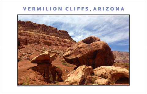 Near Vermilion Cliffs, AZ Photo Wall Art #1082