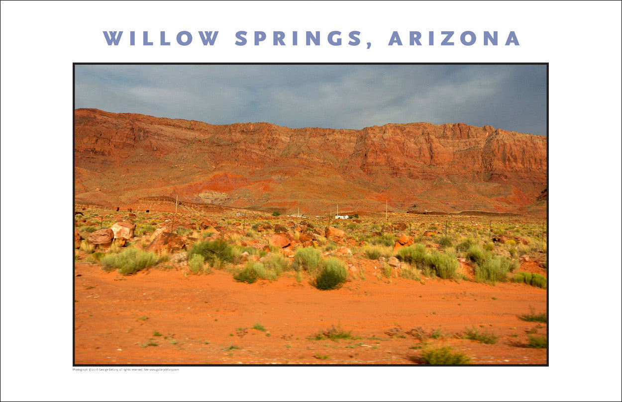 Near Willow Springs, AZ Photo Wall Art #1089