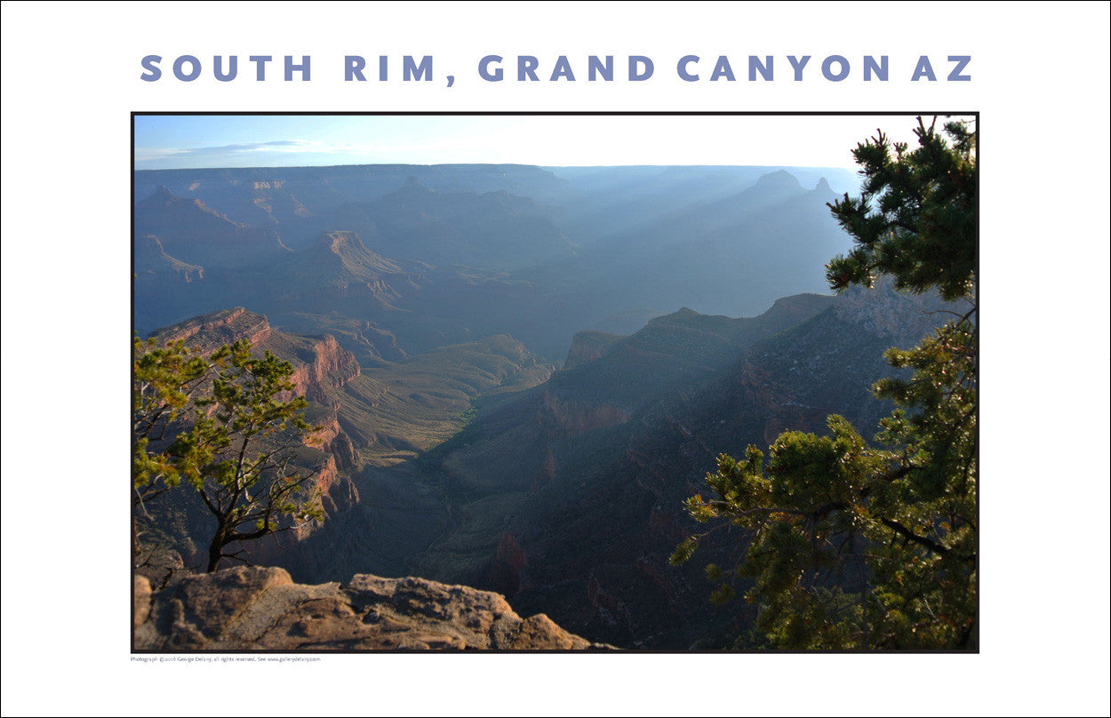 South Rim, Grand Canyon, Arizona Photo Wall Art #1100