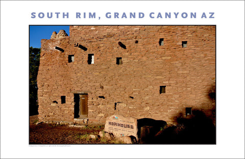 Hopi House, South Rim, Grand Canyon, Arizona Photo Wall Art #1104
