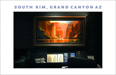 Art at El Tovar Lodge, South Rim, Grand Canyon, AZ Photo Wall Art #1108