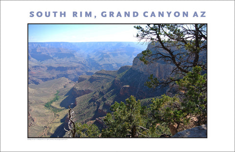 Vistas at South Rim, Grand Canyon, AZ Photo Wall Art #1109