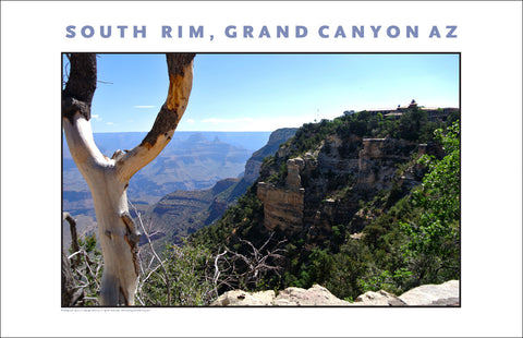 South Rim, Grand Canyon, AZ Photo Wall Art #1112