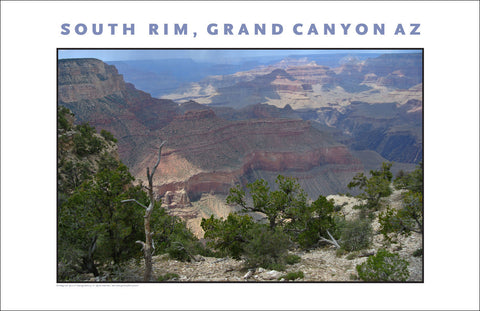 South Rim, Grand Canyon, AZ Photo Wall Art #1116