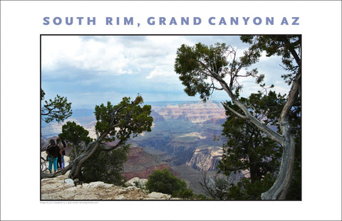 South Rim, Grand Canyon, AZ Photo Wall Art #1118