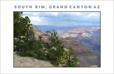 South Rim, Grand Canyon, AZ Photo Wall Art #1119