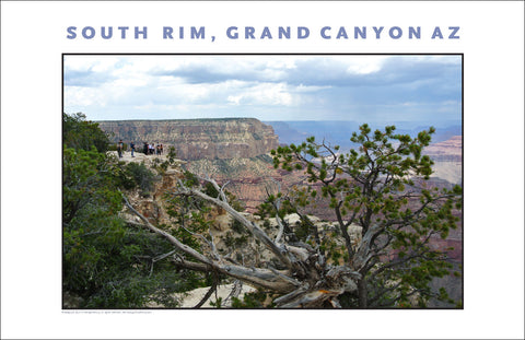 South Rim, Grand Canyon, AZ Photo Wall Art #1120