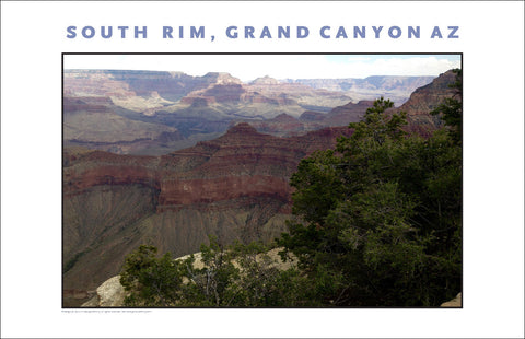 Cloud Covers Beautiful on South Rim, Grand Canyon, AZ Photo Wall Art #1125