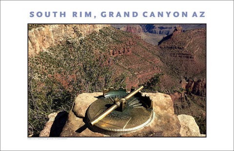 Locator Close-Up, South Rim, Grand Canyon, AZ Photo Wall Art #1129