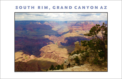 South Rim, Grand Canyon, AZ Photo Wall Art #1131, A Painting?