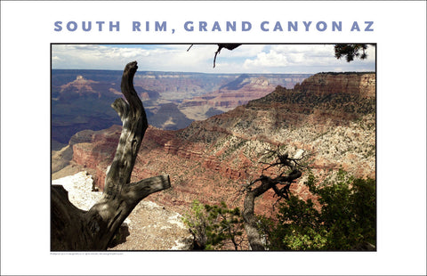 Very Painterly South Rim, Grand Canyon, AZ Photo Wall Art #1132