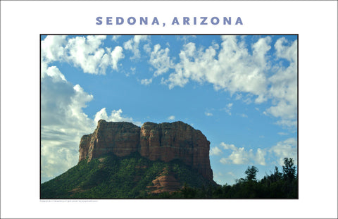 This is Sedona, AZ Photo Wall Art #1136