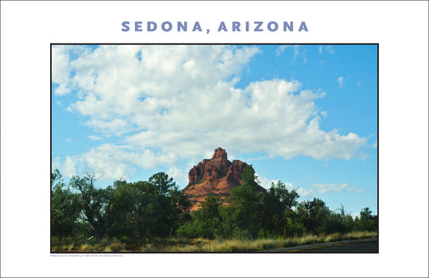This is Sedona, AZ Photo Wall Art #1137