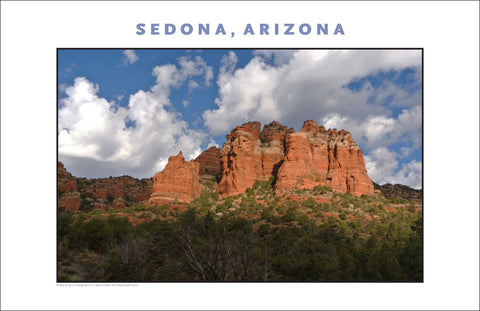 Love This Landscape, Sedona AZ Photo Wall Art #1139
