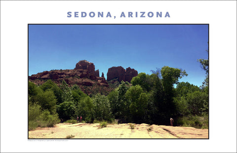 A River Runs Through It, the Landscape, Sedona AZ Photo Wall Art #1140