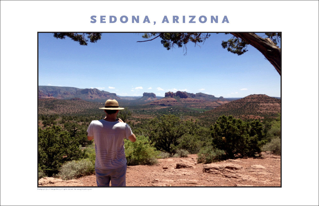 Time to Take Photo, Landscape of Sedona AZ Photo Wall Art #1141