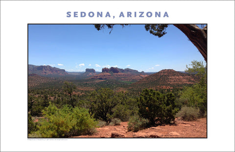 Want to Paint It...Landscape of Sedona AZ Photo Wall Art #1142